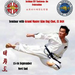 Seminar with Grand Master Kim Ung Chol, IX DAN - 15-16/09/2018 Novi Sad